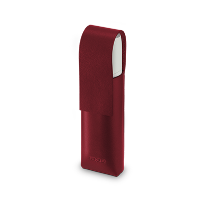 IQOS 3 MULTI Lederhülle, Deep Red, large